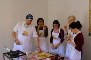 Luca e le foodblogger