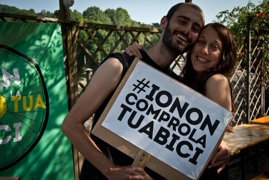 #IoNonComproLaTuaBici