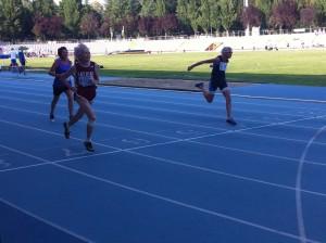 Arrivo 100mt w 75